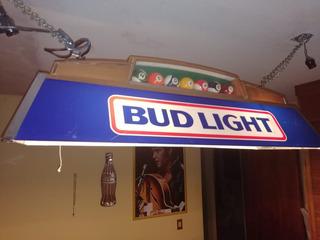 Lampara De Billar Budweiser 80
