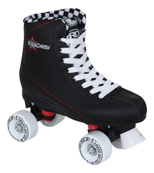 Patines Roller Derby Ciclismo Qs600 Negro