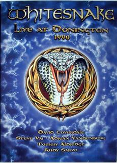 Dvd - Whitesnake - Live At Donington 1990