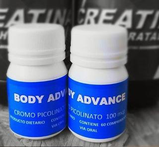 Picolitano De Cromo 60 Comprimidos. Body Advance