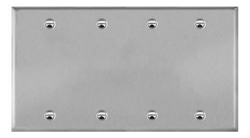 Imagen 1 de 1 de Placa De Pared De Metal En Blanco, Resistente A La Corrosión