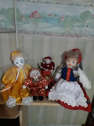 Muñecos Muñecas Juguete Cabeza Porcelana Niños Niñas
