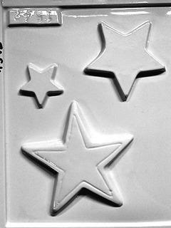 Moldes De Souvenir O Bombones Estrella