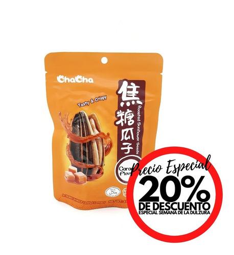 Snack Semillas De Girasol Sabor Caramelo 108 Gr