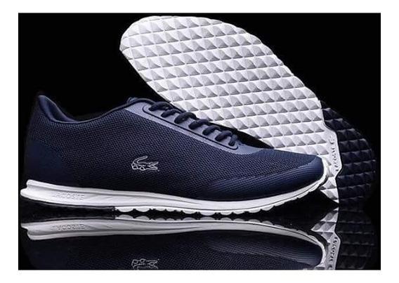 Zapatillas Tenis Lacoste Hombre Original