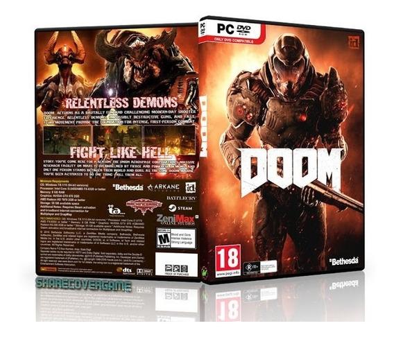 Doom 4 2016 Para Pc Digital - Receba Hoje Mesmo