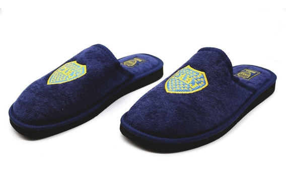 Pantufla Boca Jrs Oficial | Niño (3649)
