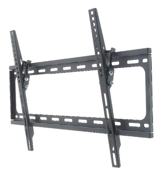 Base De Pared Fija Color Negra Inclinable Tv Hasta 50 Z129