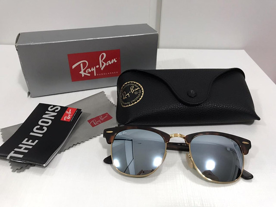 Óculos Rayban Clubmaster Original ( Usado )