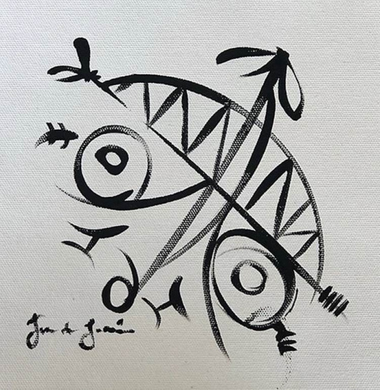 Cuadro, Arte Mexicano De Juan Lascurain ¨calavera¨