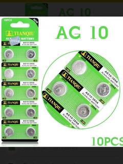 Baterias Pilas X10 Unidades