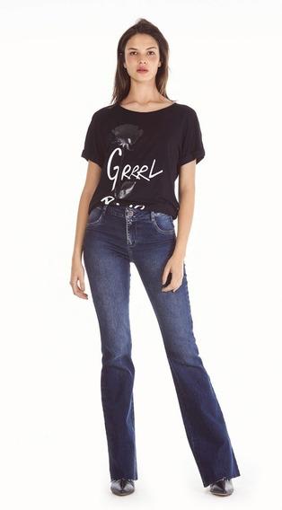 Calça Jeans Feminina Morena Rosa 203432
