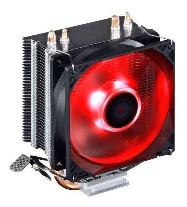 Cooler Gamer Brazil Pc Mod. 100 Cobre Led Vermelho