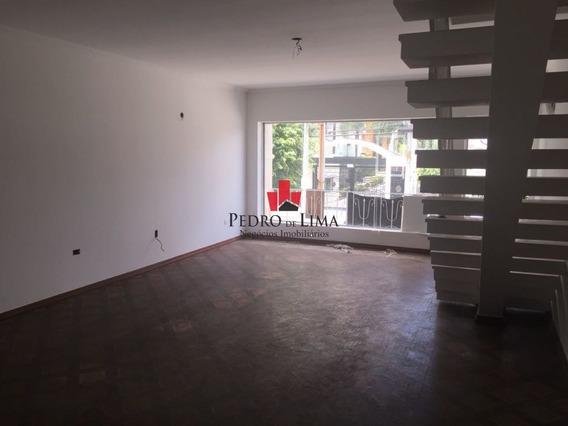 Sobrado Comercial Com 3 Dormitórios E 2 Vagas Para Locação Em Jardim Anália Franco - Tp13685