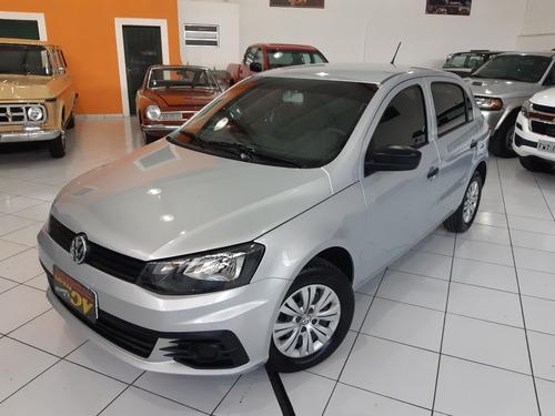 Vw Volkswagen Gol Trendline 1.0 Flex 4p Ar Cond Completo