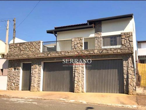 Casa À Venda, 221 M² Por R$ 650.000,00 - Jardim Dos Manacás - Valinhos/sp - Ca0628