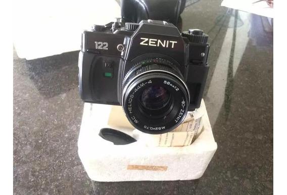 Camera Zenit 122 + Nf + Cert Garantia