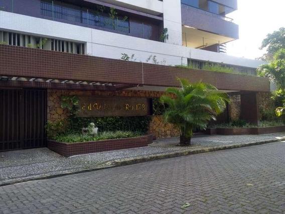 Apartamento Com 4 Quartos Para Alugar, 280 M² Por R$ 4.500/mês - Torre - Recife/pe - Ap1989