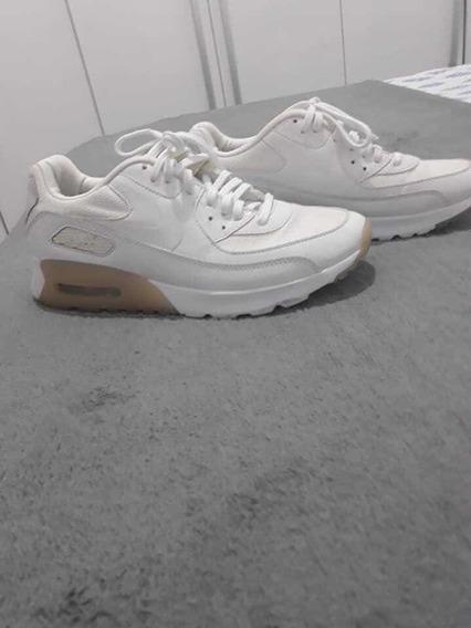 Tênis Nike Air Max 90 Branco.