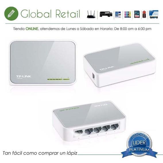 Switch De Escritorio Tl-sf1005d Tp-link 5 Puertos 10/100mbps
