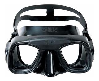Máscara Omer Abyss Mergulho Pesca Sub - Tipo Cobra Sub