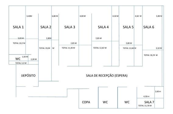 Salas Comerciais Acesso A Dois Banheiros E Uma Copa.