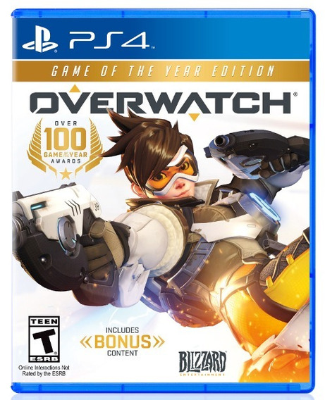 Overwatch - Game Of The Year Edition - Ps4 Português