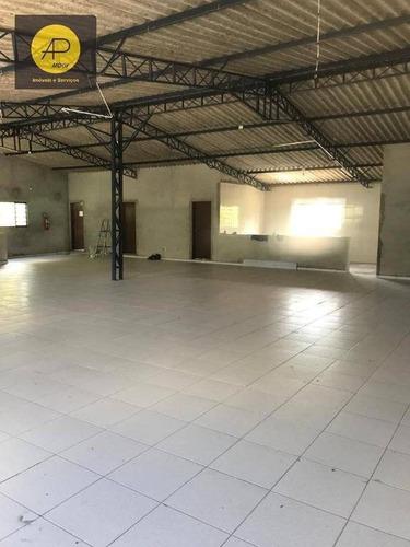 Salão Para Alugar, 230 M² Por R$ 2.500,00/mês - Vila Moraes - Mogi Das Cruzes/sp - Sl0014