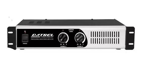 Amplificador De Potencia Profissional Pa5000-600w Frete Pago