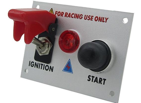 Painel De Ignição, Botão Start, Switch Chave Caça Turbo Ap