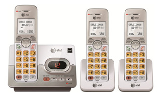 Telefonos Inalambricos At&t El52303 Kit 3 Tels Envio Gratis