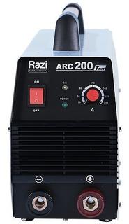 Máquina De Solda Inversora Razi Arc-200t Bivolt Automática
