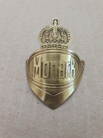 Plaqueta Brasão Monark Monareta Novo