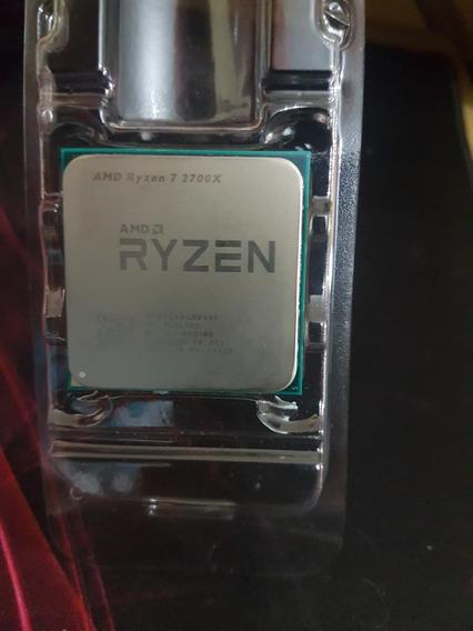 Processador Amd Ryzen 2700x Com Cooler Wraith Prism
