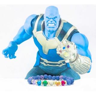 Pulsera Avengers - Thanos / Gemas Del Infinito - Marvel