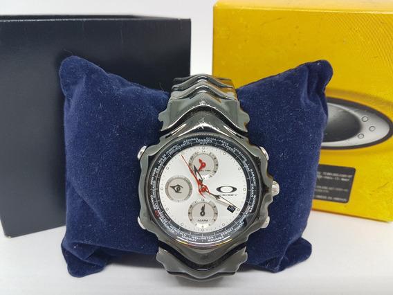 Relógio Oakley Gmt Preto Original