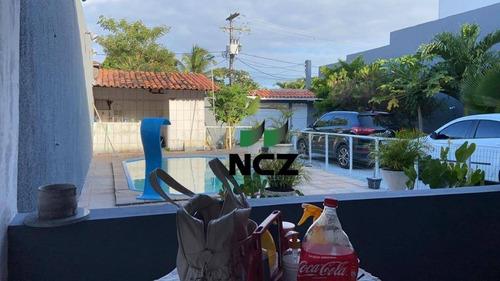 Casa Com 4 Dormitórios À Venda, 450 M² Por R$ 650.000,00 - Priscilla Dutra - Lauro De Freitas/ba - Ca3193