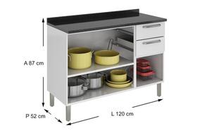 Armário De Cozinha Tipo Balcão