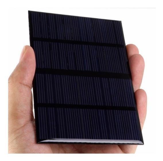 Mini Placa Solar 12v Painel Policristalino Gerador Energia