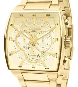 Relógio Technos Original Masculino Quadrado Js25al/4x C/ Nfe