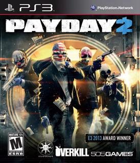 Payday 2 Ps3 (4gb) No Codigo