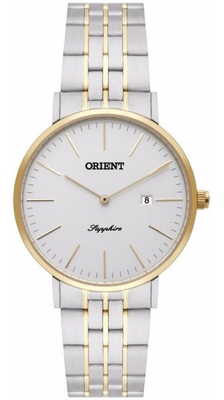 Relógio Orient Bicolor Feminino Safira