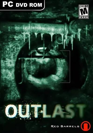 Outlast Pc - 100% Original (steam Key)