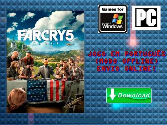 Far Cry 5 - Pc - Pt-br - Mídia Digital!!!