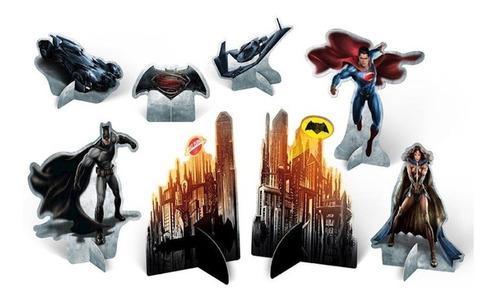 Decoração De Mesa Batman Vs Superman