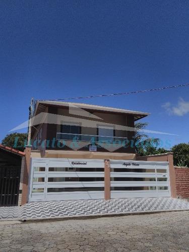Casa Em Cond. Fechado Para Venda Baln. Maracanã, Praia Grande Sp - Ca00193 - 32100548