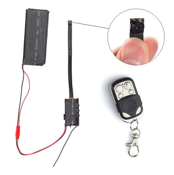 Mini Camara Espia Oculta Seguridad Camuflada Mic Bateria