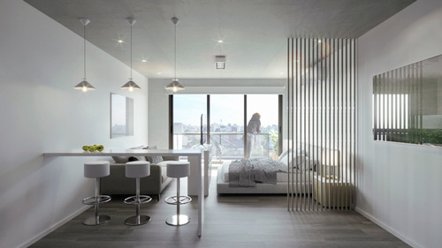 Venta Monoambiente Con Balcon En Pozo - Monserrat