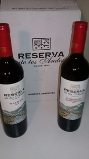 Reserva De Los Andes Caja Varietales Oferta