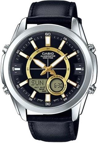 Relógio Casio Masculino Enticer Amw-810l-1avdf
